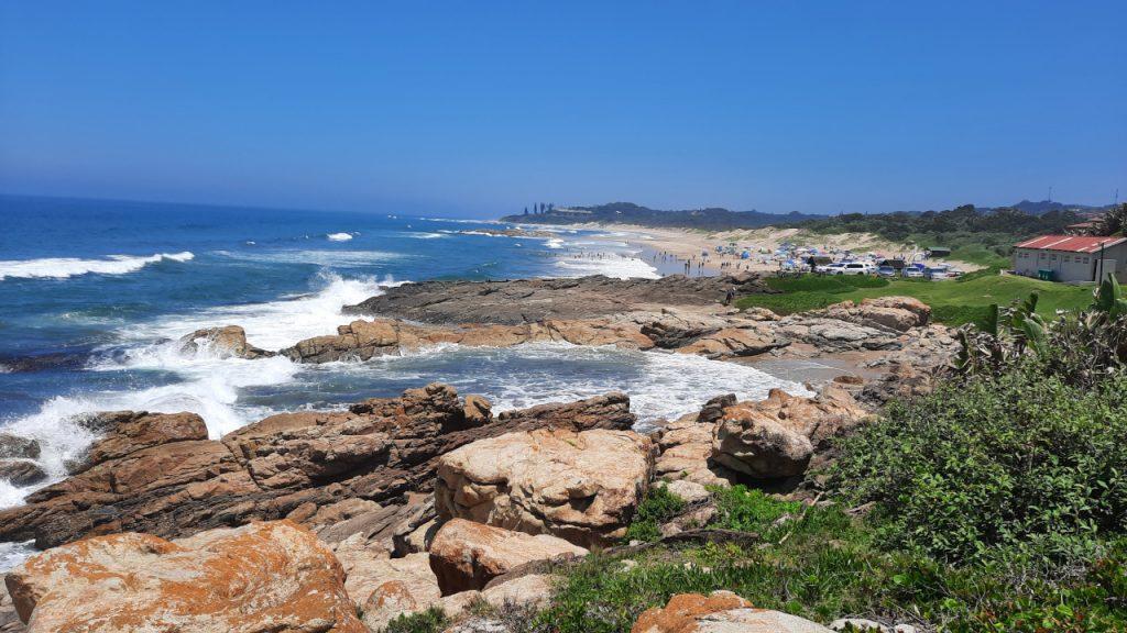 Ocean Song - KZN South Coast - View of the coastline